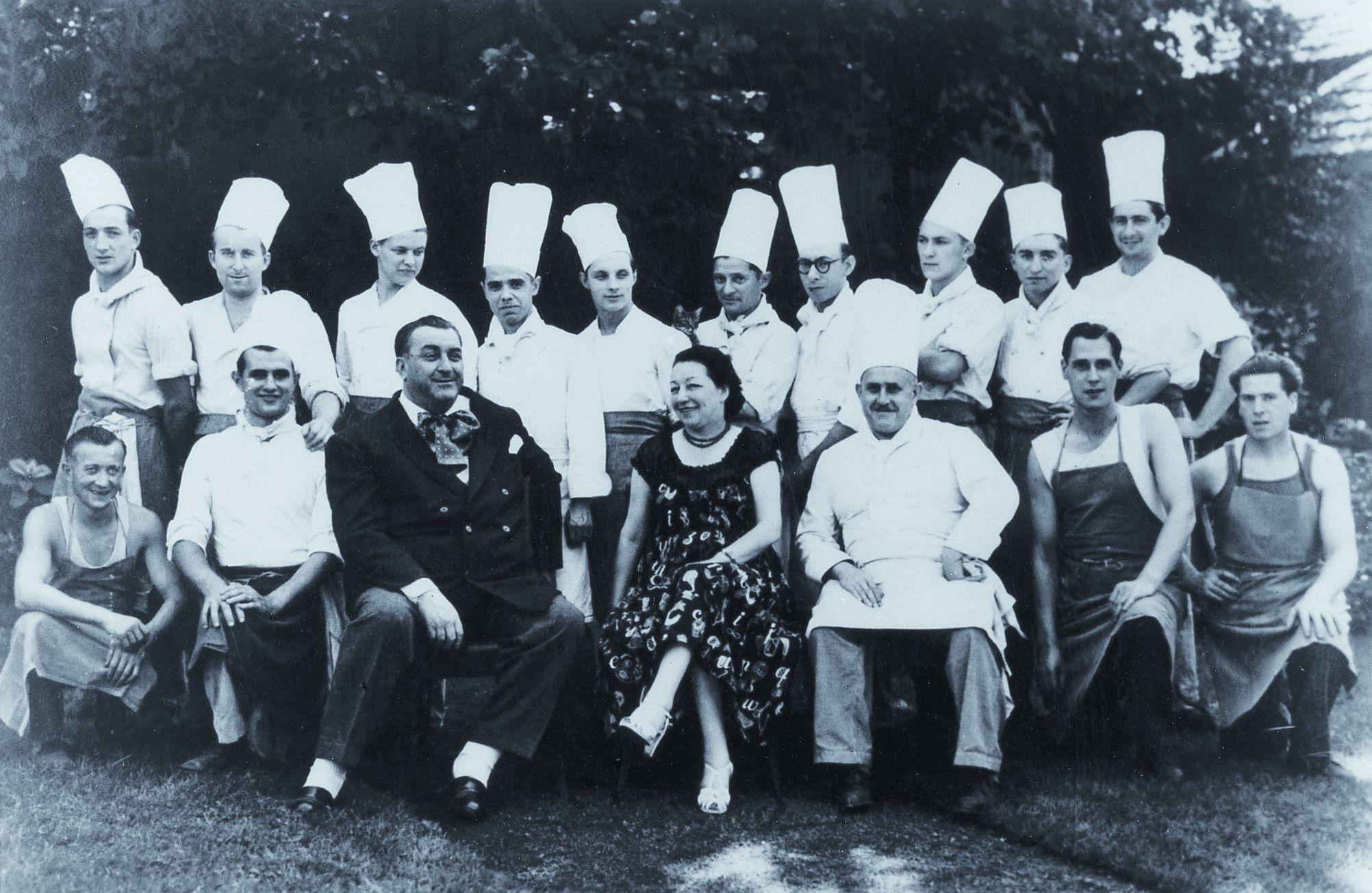 Ferdinand Point at La Pyramide   Cooks, Chefs, Nonnas and Grandmeres ...