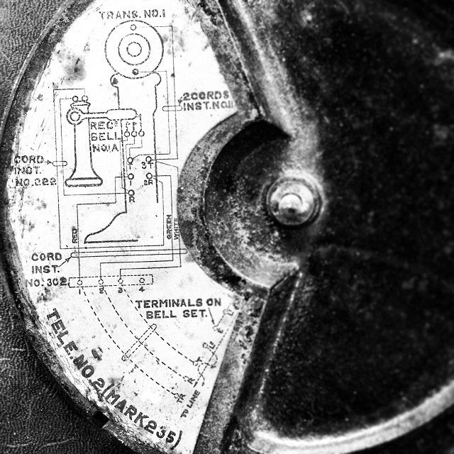 Circuit Diagram For 104 Years Old Sterling Model Candlestick Tele