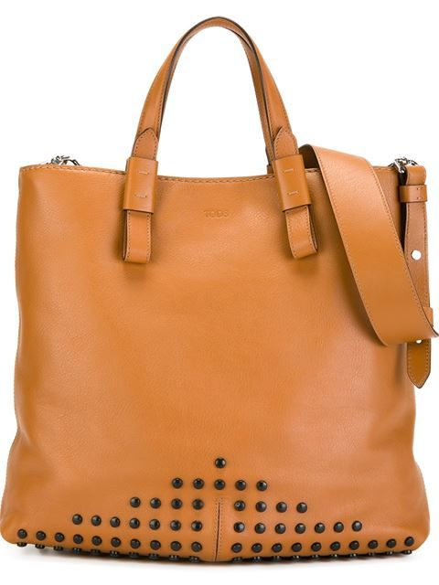 0e183038d3 Tod's studded tote. Tod's studded tote Designer Handbags ...