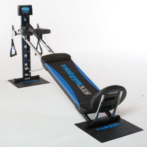 New total gym fitness exercise xls home gym equipment with ab crunch