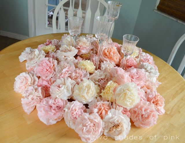 Coffee Filter Flowers A Super Cheap Pretty And Fun DIY Decor Idea
