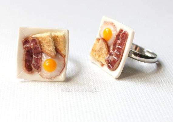 Hey, I found this really awesome Etsy listing at http://www.etsy.com/listing/120159741/food-rings-bacon-and-eggs-fun-rings-fun