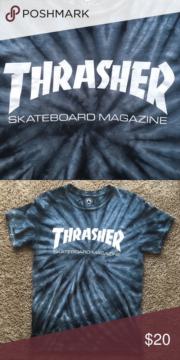 d4a16cf3587946 Tye Dye Thrasher Magazine tee shirt Super cool Thrasher shirt. Very unisex.  Size small. No signs of ware! thrasher Shirts Tees - Short Sleeve