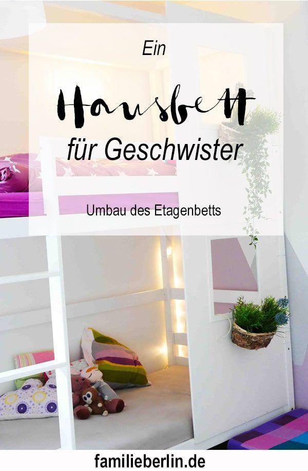 ein hausbett f r geschwister wir verwandeln ein etagenbett in ein haus kinderzimmer rosa y. Black Bedroom Furniture Sets. Home Design Ideas