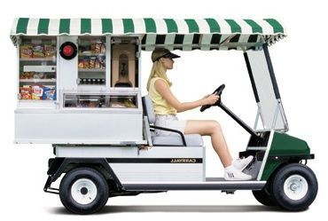 Who Says Golf Cart Concession Businesses Are Only For Resorts Why Not Test One Out As A Food Truck Or At Your Farmers Market