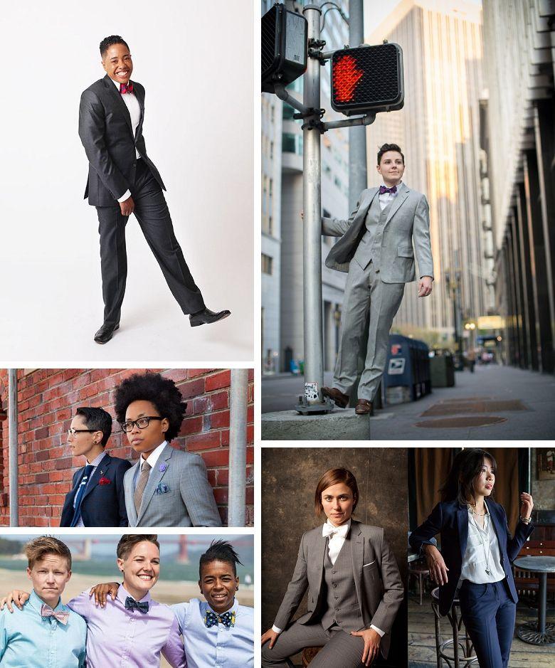 Roundup: Queer Wedding Style | Practical wedding, Wedding styles ...