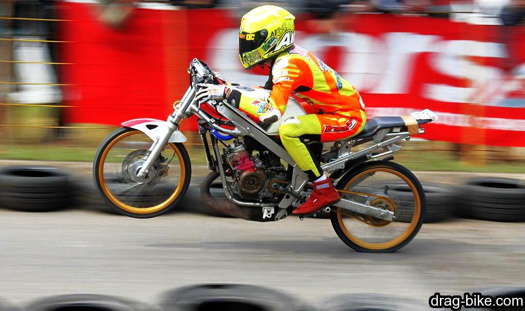 Balapan Motor Ninja Drag Modif Mothai Thailook Style Gambar