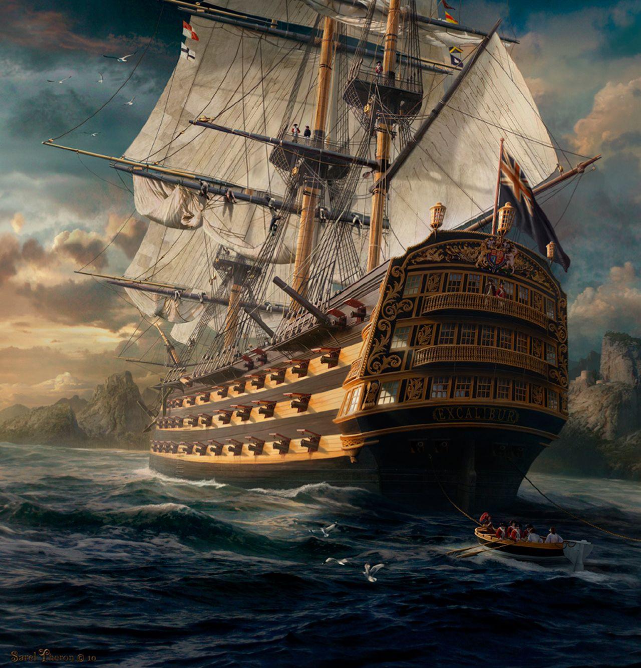 пиратский корабль фото высокое разрешение что форма сердца