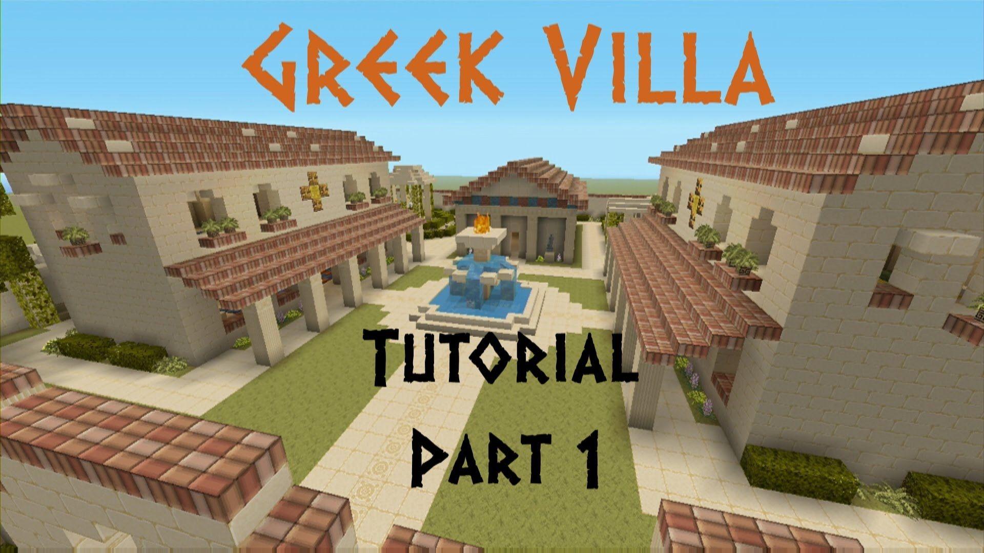 Pin By Ysl Ultd On Minecraft In 2020 Greek Villas Minecraft House Designs Minecraft