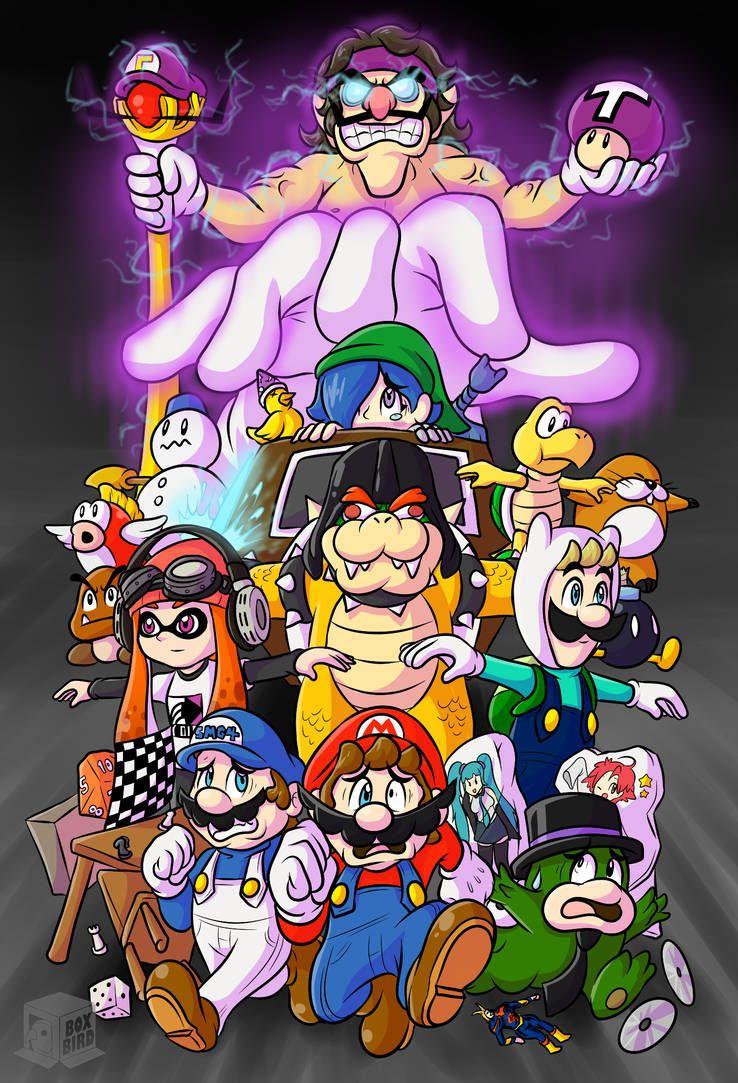 Pin by Austin Russell on Splatoon | Mario, Mario memes, Super mario bros