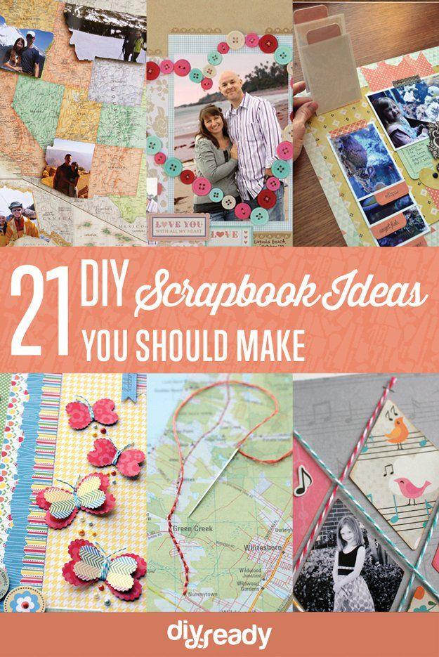 33 Creative Scrapbook Ideas Every Crafter Should Know Diy