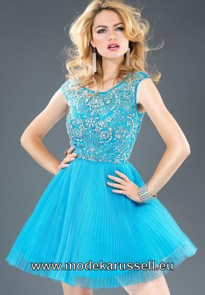 Kurzes Blaues Cocktailkleid Online   Kleider 2017   Pinterest ...