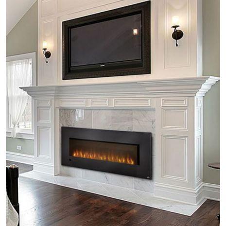 Slimline 72 Linear Electric Fireplace Ev Dekoru Ev Mobilyalari Somine Tasarimi