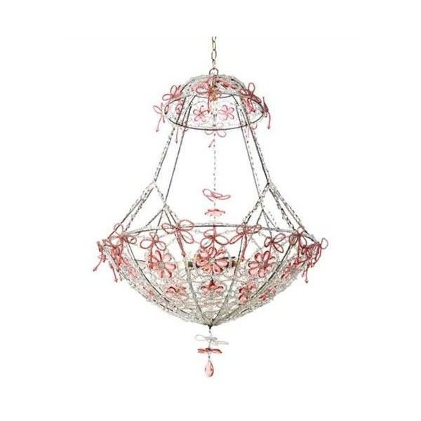 canopy designs basket chandelier liked on polyvore featuring home