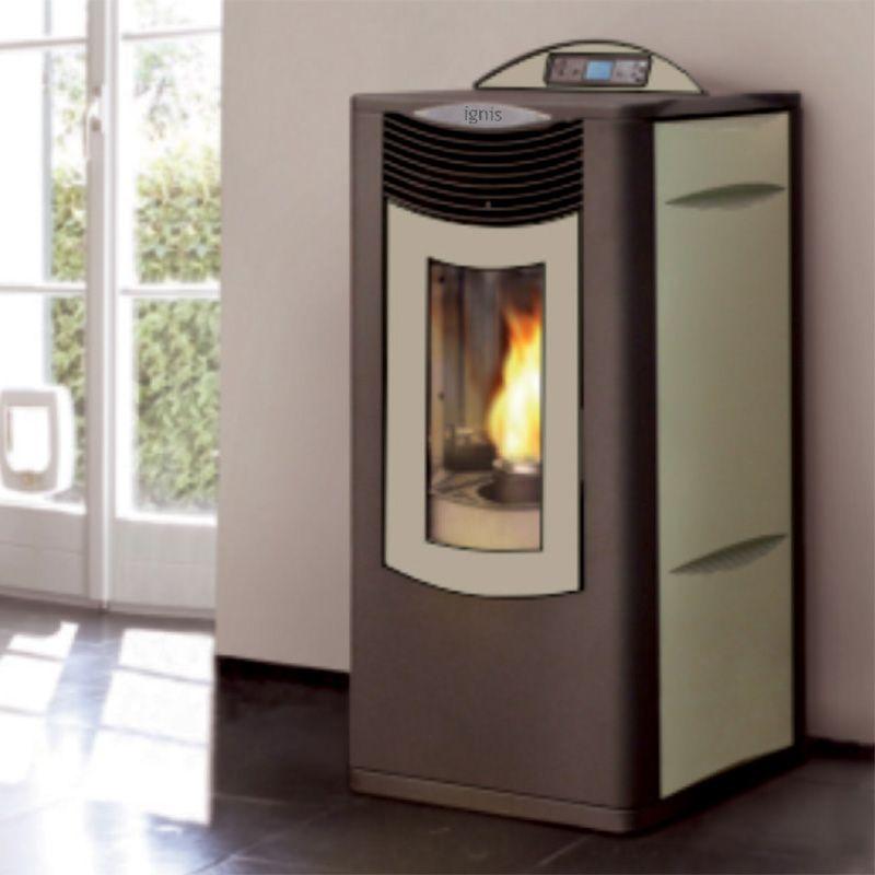 poelle a pellet poele granule seguin piazzetta piazzetta pinterest foyers pellet stove and. Black Bedroom Furniture Sets. Home Design Ideas