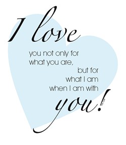 Free I Love You Quotes Amusing Newlywed Quote Free Printable Love Quote  Roy Croft  Husband