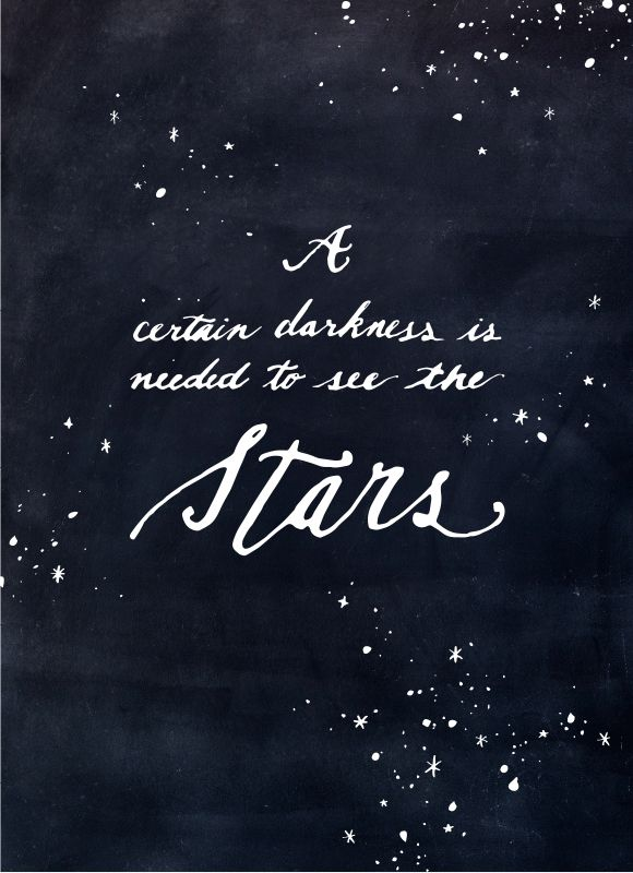 Quote Wallpaper Pleasing See The Stars Wallpaper  Star Darkness And Anonymous Design Decoration