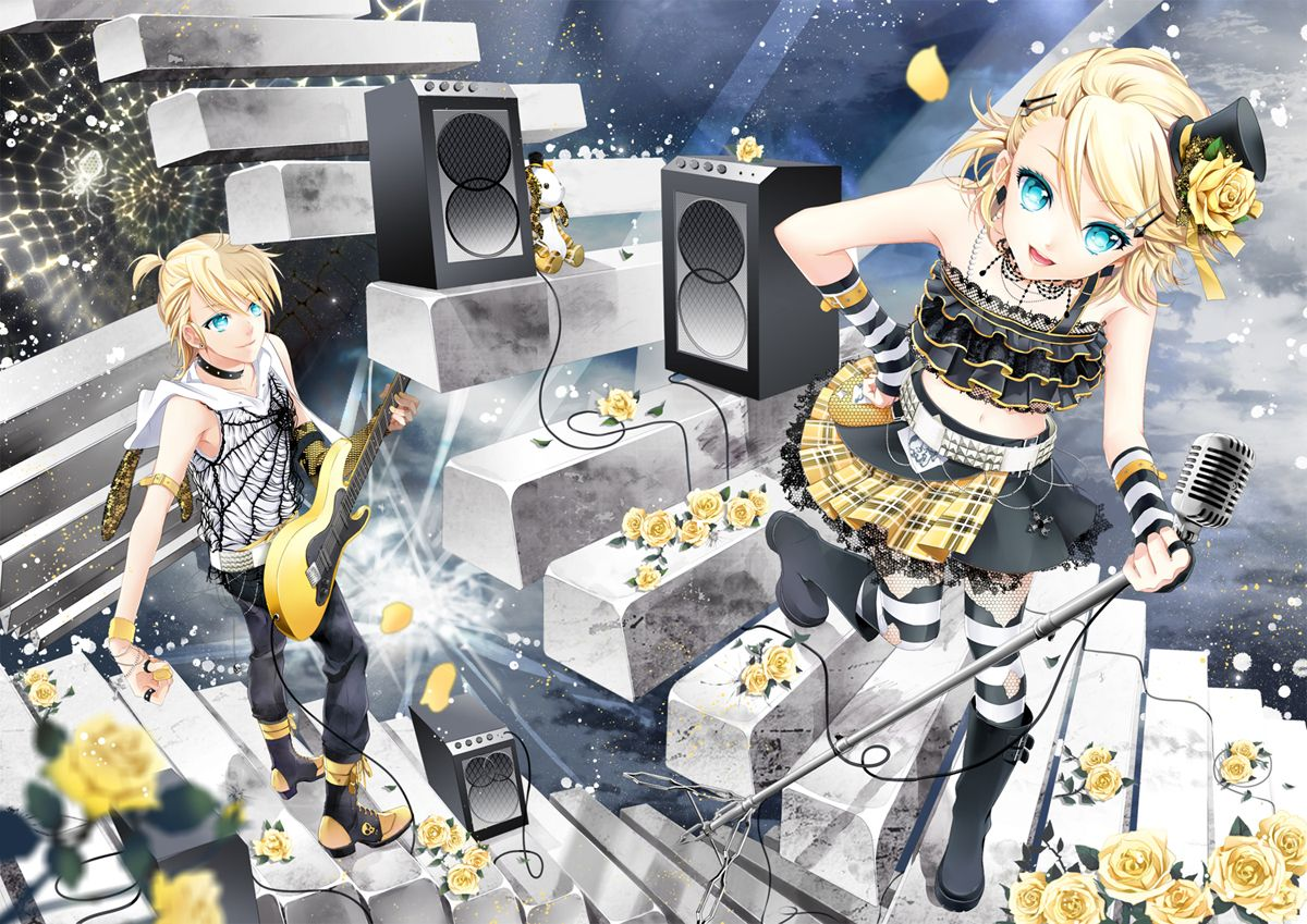 Kagamine Twins Vocaloid, Anime images