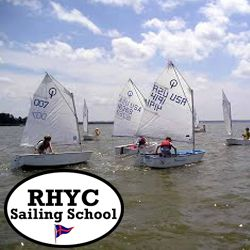 Beginning Sailing Course, a value of $220, Provided by RHYC Sailing School.