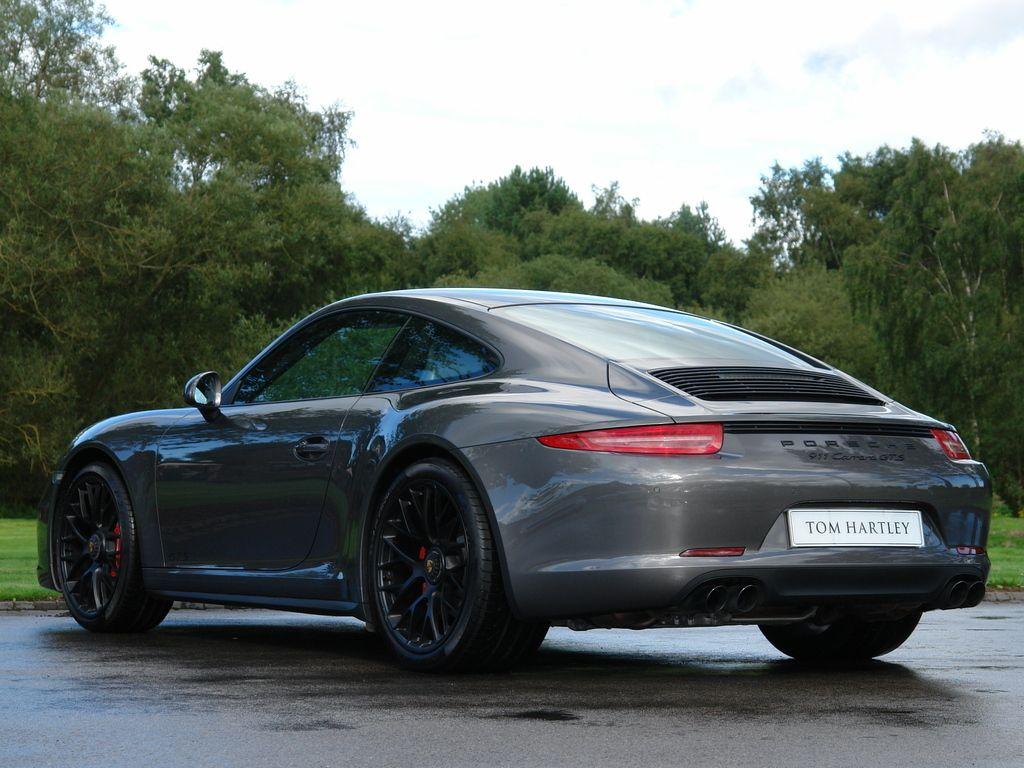 2015 Porsche 911 Carrera 991 Gts Agate Grey With Black Alcantara
