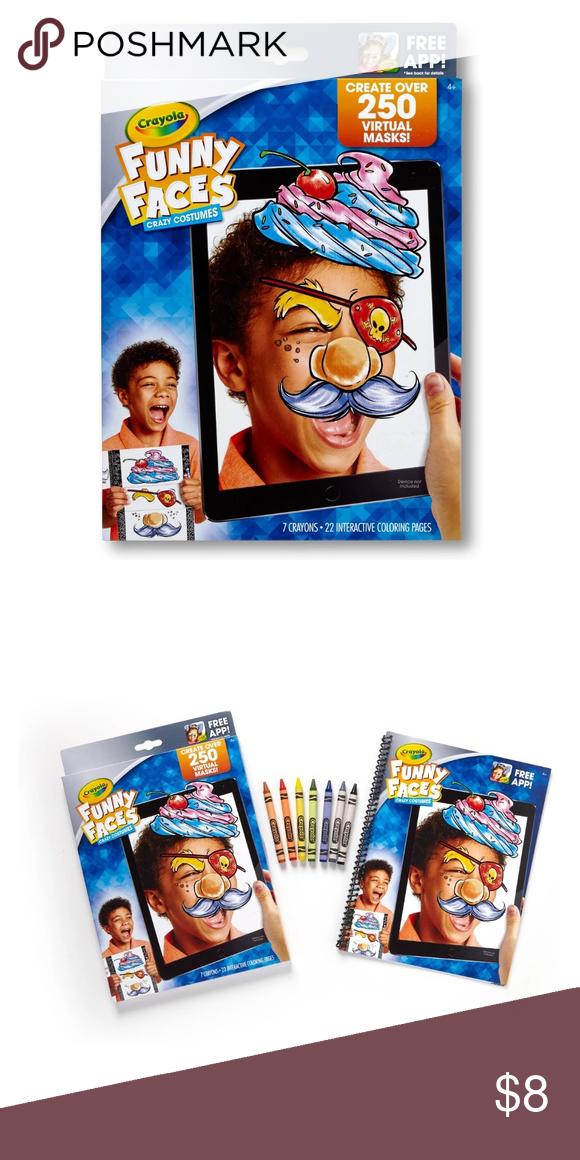 Crayola Funny Faces Crazy Costumes Crazy Costumes
