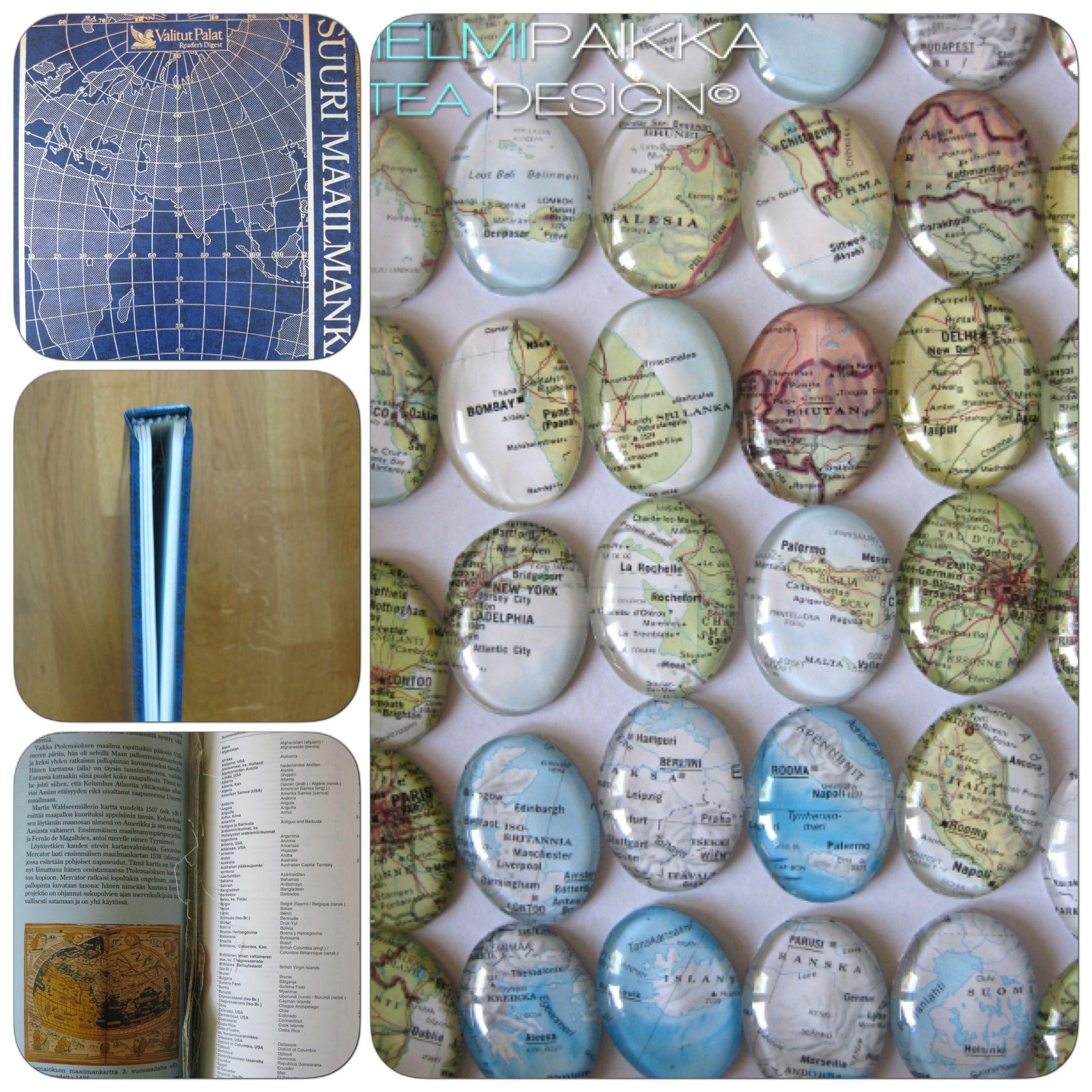 Tea Design karttakorut on uusi tuoteryhmä jonka olen valmistanut kierrättämällä vanhoja karttoja http://www.helmipaikka.fi/tuotteet.html?id=36/