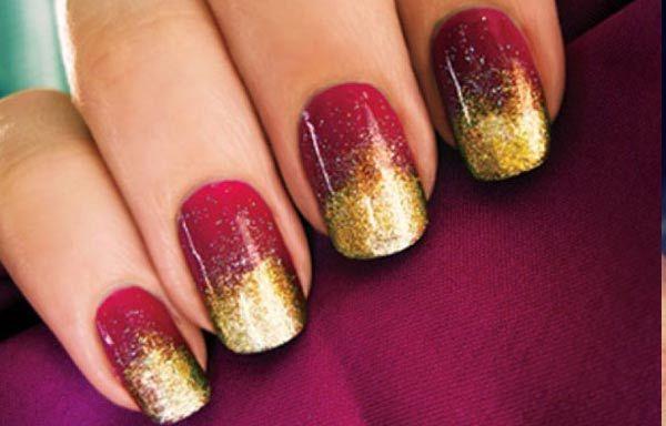 Uñas Decoradas Colores Oscuros Nails Beutiful Pinterest Nails