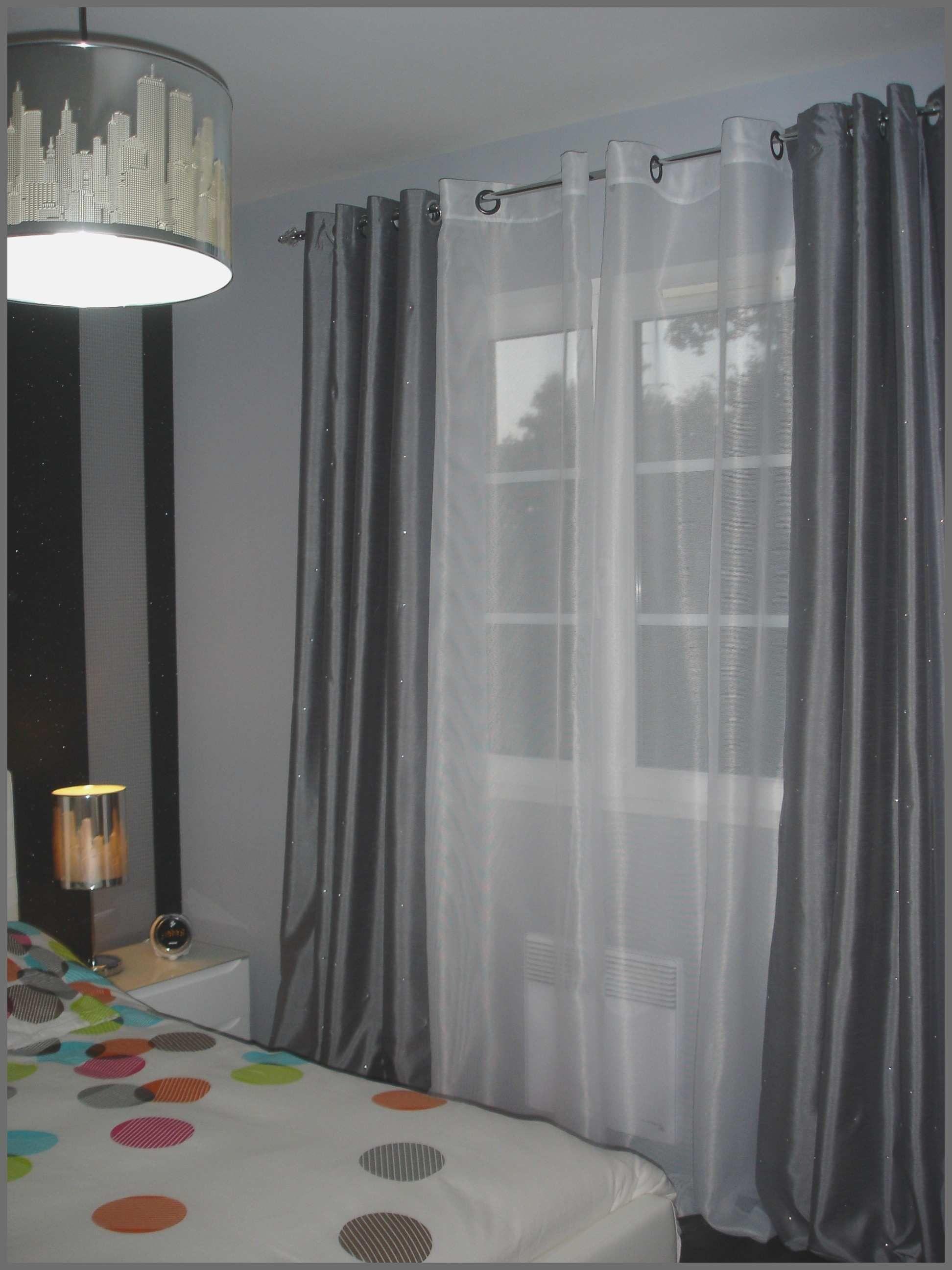 rideau salon rideau pour salon gris