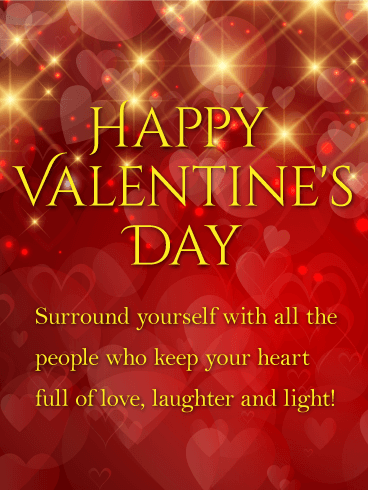 Laughter And Light Shining Happy Valentine S Day Card Birthday Greeting Cards By Davia Happy Valentine Day Quotes Valentines Day Greetings For Friends Valentines Day Quotes For Friends