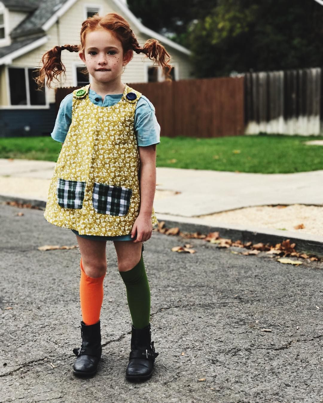 "theresa holden on Instagram: ""pippi longstocking // #ruepenelope #pippilongstocking #halloween2016"""