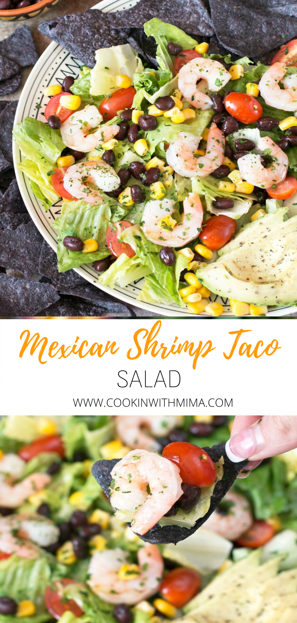 Mexican Shrimp Taco Salad Recipe Recipe In 2020 Perfect Salad Recipe Taco Salad Salad