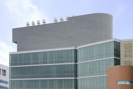 LEED Gold building on the campus of University of Cincinnati.