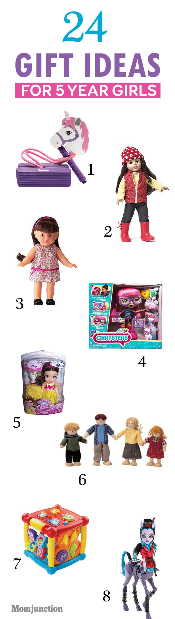 31 Best Gifts For 5 Year Old Girls To Buy In 2019