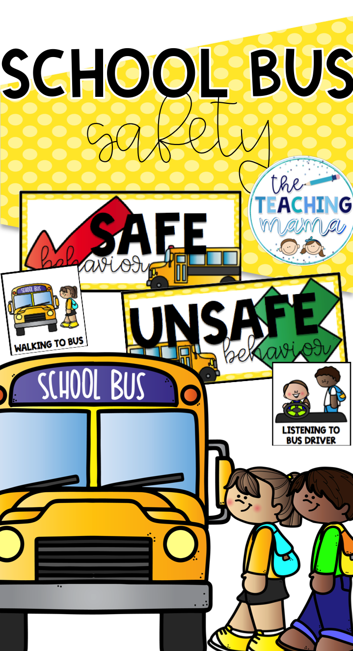 School Bus Safety School bus safety, Bus safety, School