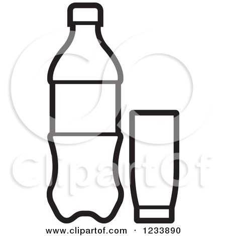 Royalty Free Vector Illustration By Lal Perera 1233890 Free Vector Illustration Soda Bottles Clip Art Pictures