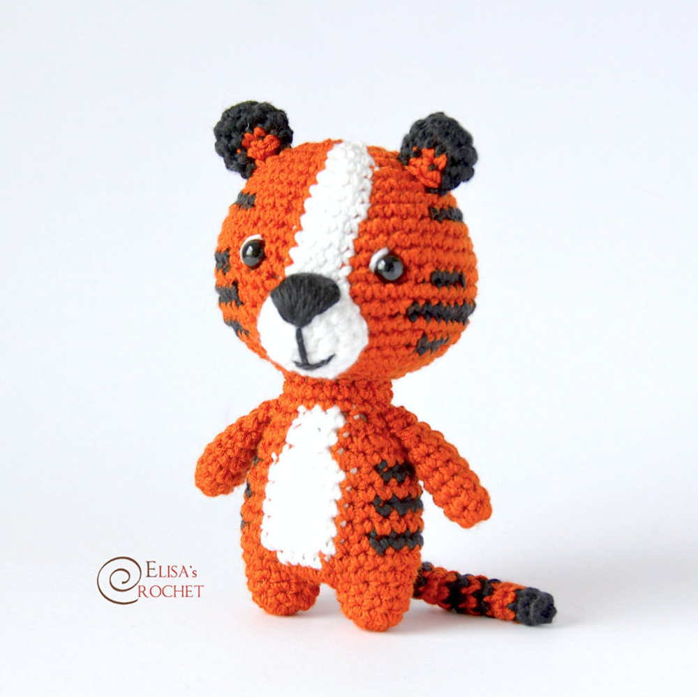 Koji, crochet tiger pattern | Son's Popkes | 999x1000