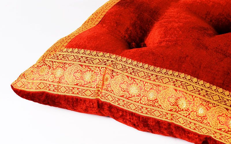 Red Floor Pillows - Flooring Ideas and Inspiration