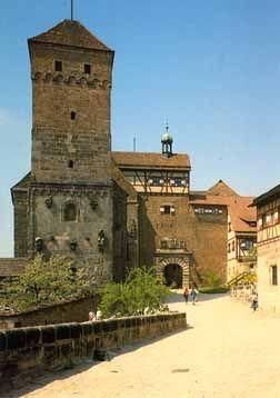 Kaiserburg Castle In Nurnberg Germany Burg Burgen Und Schlosser Schlosser Deutschland
