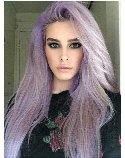 Purple Hair Pastel Purple Hair Hair Color Purple Faded Purple Hair