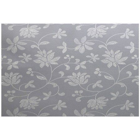 Simply Daisy 4' x 6' Traditional Floral Floral Print Indoor Rug, Black