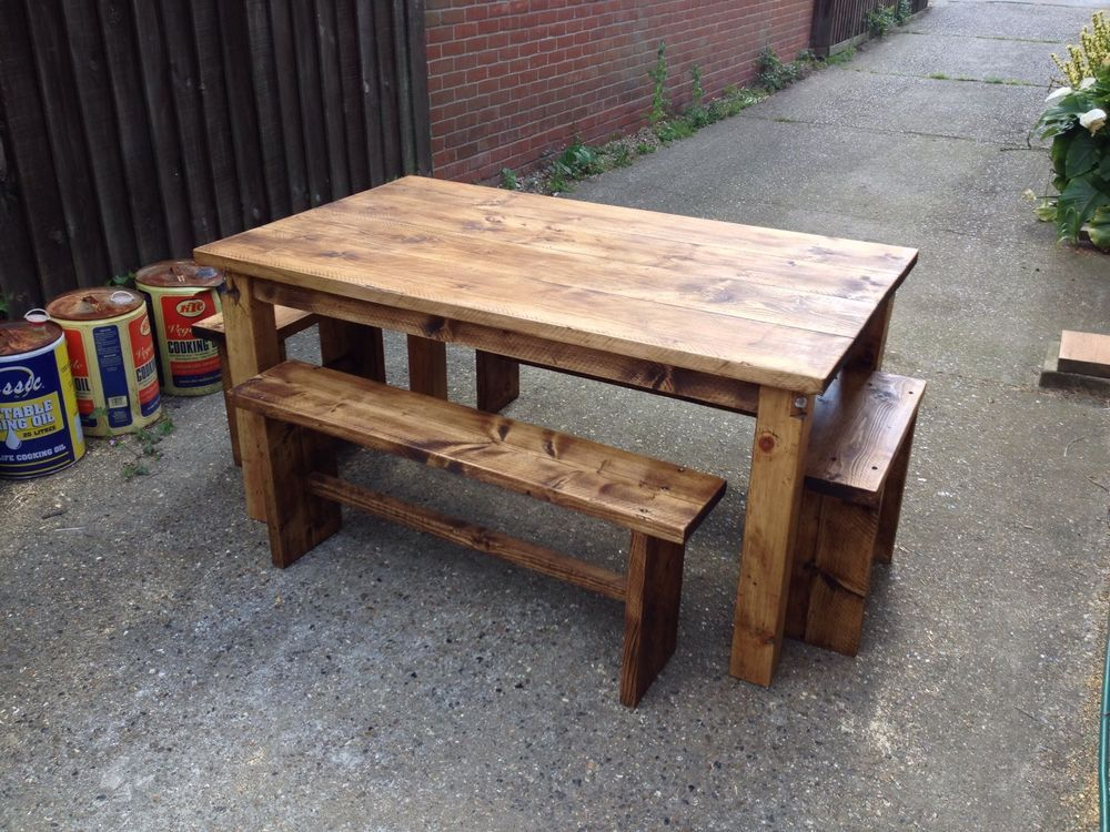 8 seat dining tablekitchen table reclaimed pine wood