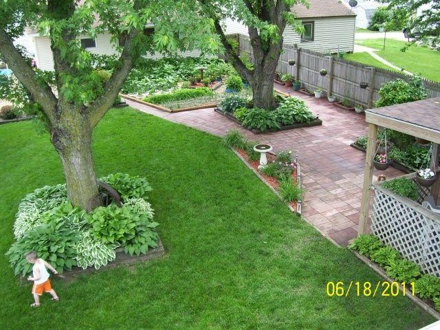 Hostas Around Trees Hostas All Around A Tree Base Landscaping Around Trees Landscaping Around House Luxury Landscaping
