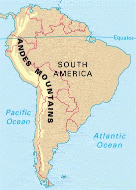 Biggest Mountain Ranges Of World Mountain Range Big Mountain Andes Mountains