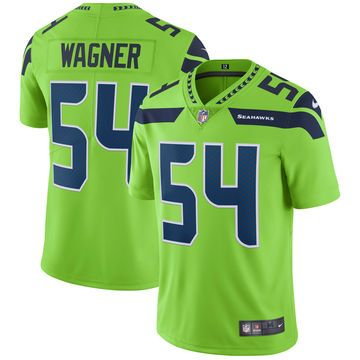 timeless design d6d1e 5caee Men's Nike Bobby Wagner Neon Green Seattle Seahawks Vapor ...