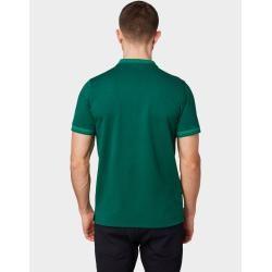 Photo of Polo de hombre Tom Tailor con logo bordado, verde, dos tonos, talla xxl Tom TailorTom Tailor