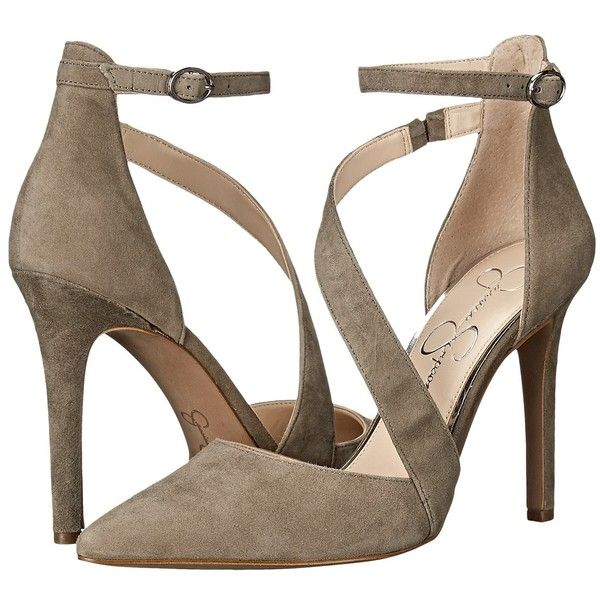 e217e6fc875 Jessica Simpson Castana (Olive Taupe Luxe Kid Suede) High Heels ( 63 ...