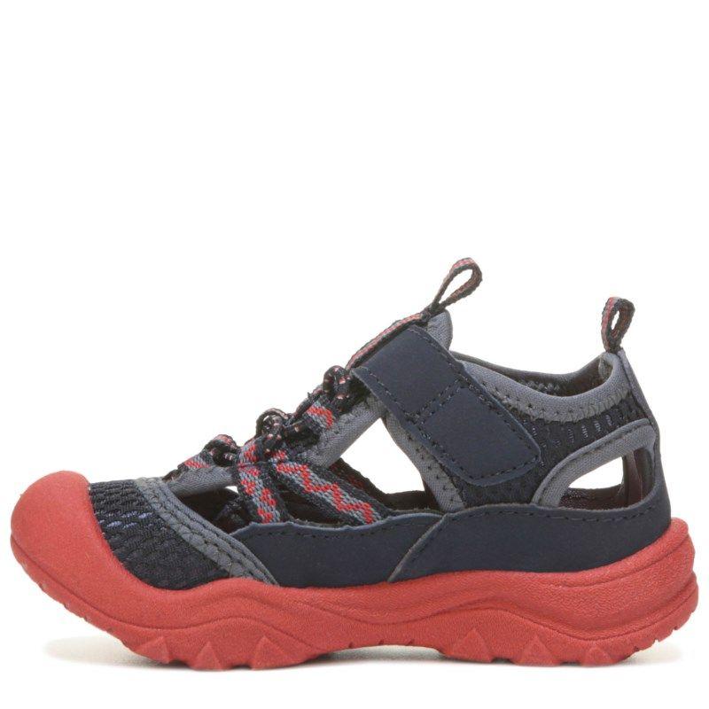 Oshkosh B'gosh Kids' Hax Sandal Toddler/Preschool Shoes (Navy/Red