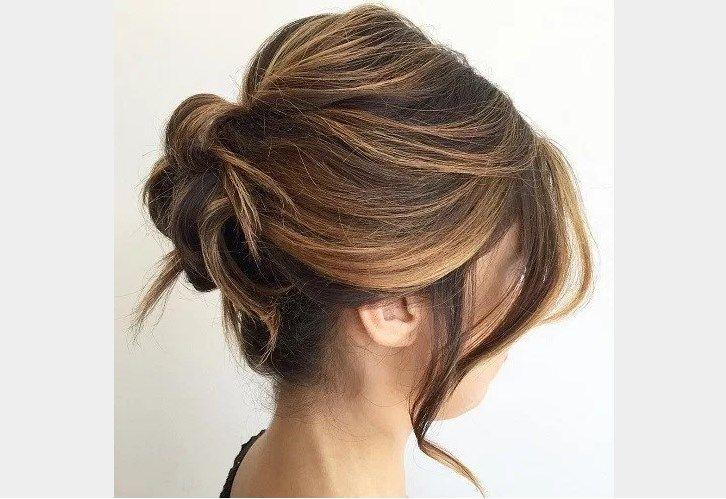 postiche chignon cheveux naturels Rouleau de fantaisie