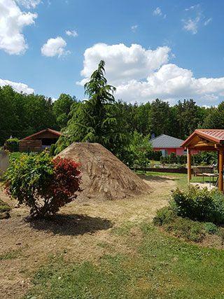 Erdkeller Planen und Bauen im Garten Erdkeller Bausatz