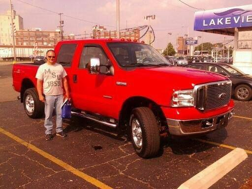 congratulations alan heinbaugh on the purchase of your new 2006 ford f350 crewcab thank you happycustomer ford sales ford f350 ford pinterest